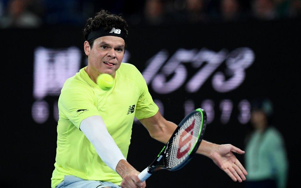 Един от най-добрите тенисисти в света Милош Раонич направи любопитно