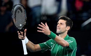 Джокович: Изпитвам огромно уважение към Федерер