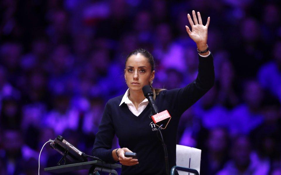 Марияна Вельович е едно от нежните лица на тениса. Нейната