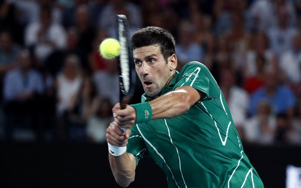 Новак Джокович заяви огромното си уважение към Роджър Федерер, след