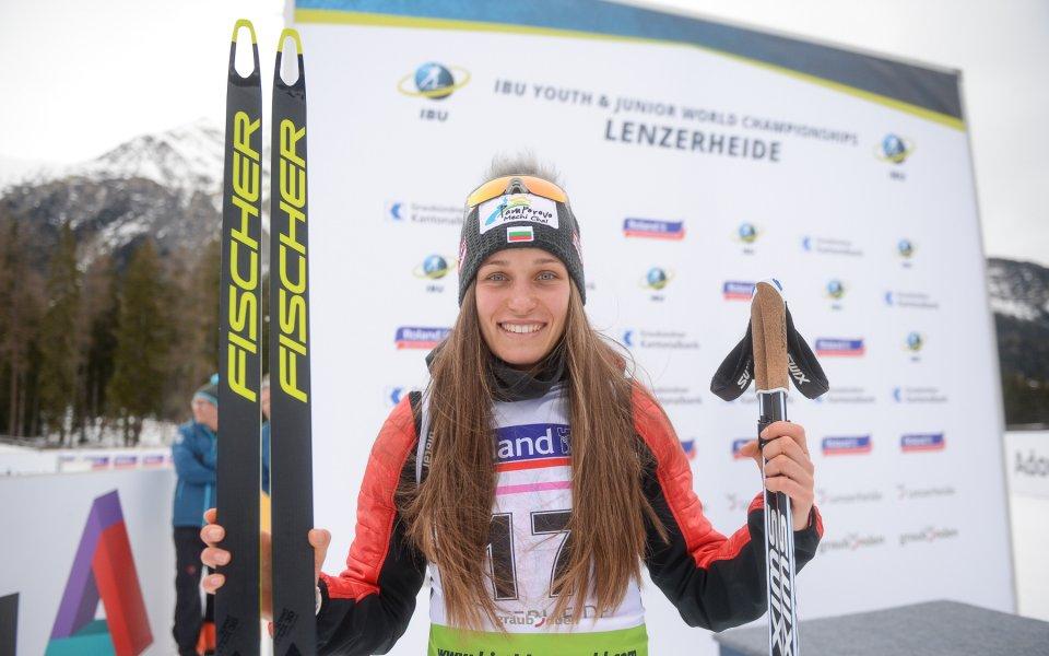 Тодорова записа най-доброто си класиране на Световното, италианка триумфира