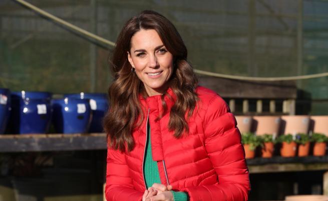 Кейт с дребен моден трик, който няма как да видите