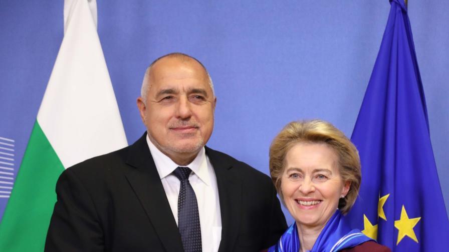 Борисов постави пред шефа на ЕК въпроса за цената на прехода към зелена икономика