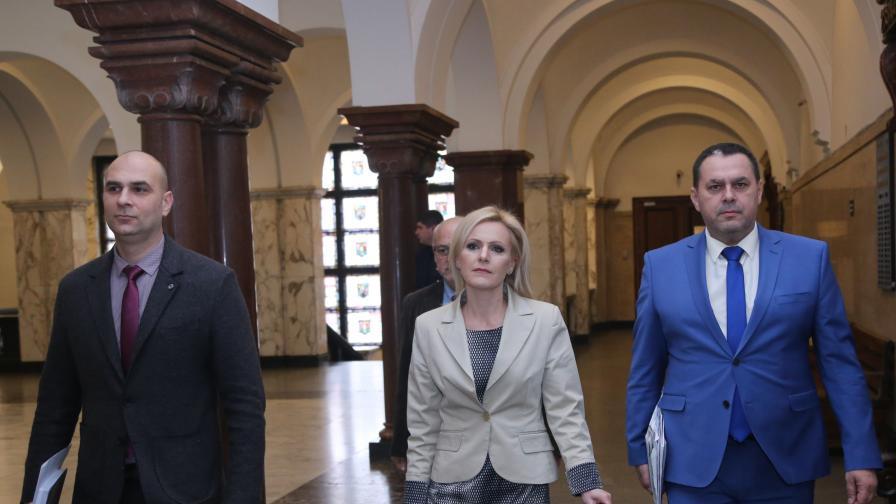 В Съдебната палата говорителят на главния прокурор Сийка Милева даде брифинг