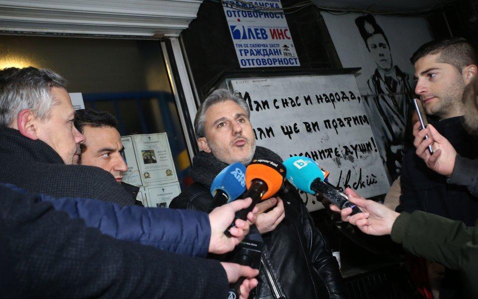 Павел Колев индиректно каза след срещата с НКП Левски, че