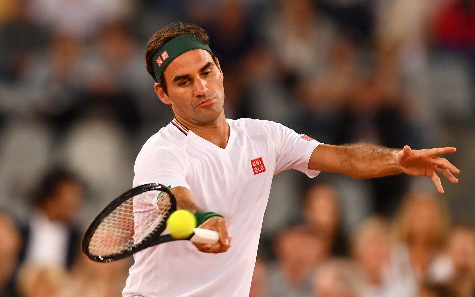 Един от световните тенис асове Роджър Федерер претърпя още една