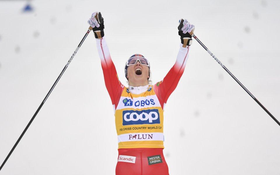 Йохауг спечели масовия старт на 10 км при жените във Фалун