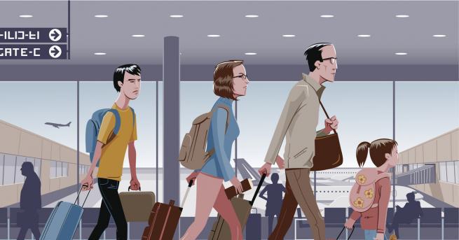 Любопитно 10 неща, които да не правим на летището Абсолютно