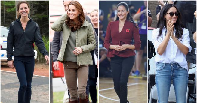 Херцогинята на Кеймбридж и херцогинята на Съсекс може и да