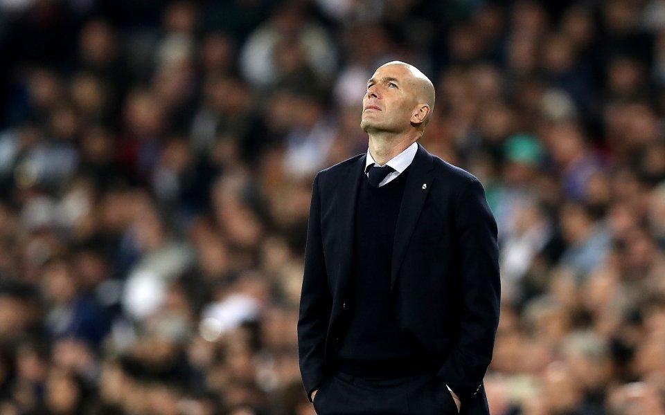 Зинедин Зидан е пред историческо постижение начело на Реал Мадрид.