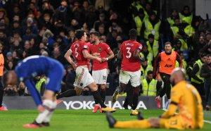 ВАР скъса нервите на Челси и спомогна за историческа победа на Юнайтед