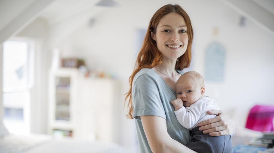 Как да поддържаш енергия след раждане