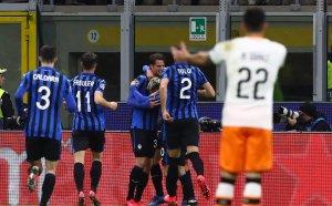 """Шеметен успех за Аталанта срещу Валенсия на """"Джузепе Меаца"""""""
