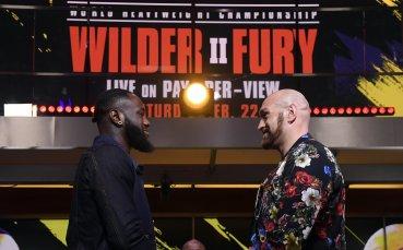 Уайлдър и Фюри започнаха мача по-рано, определиха съдиите за сблъсъка