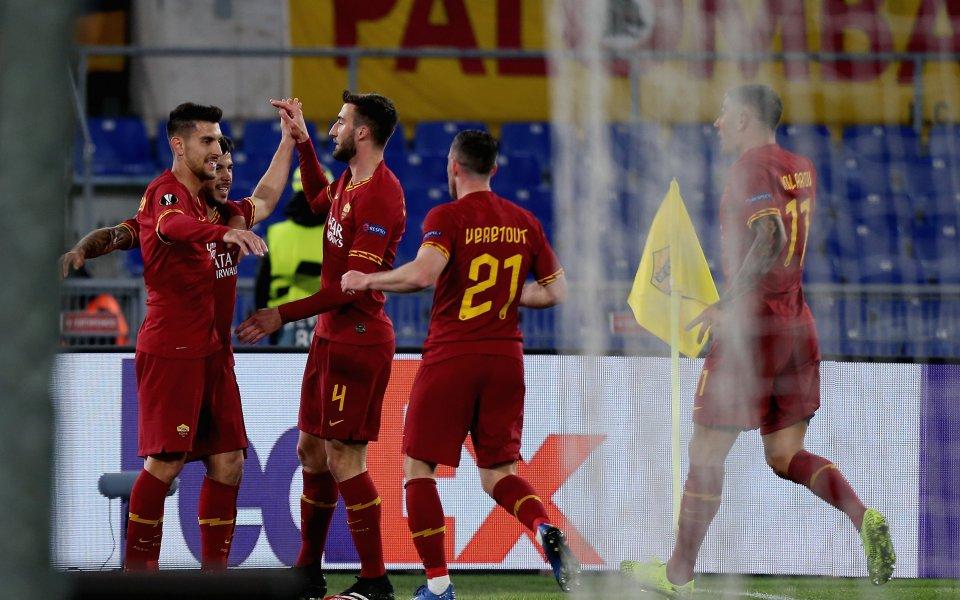 Рома изстрада първа победа от месец