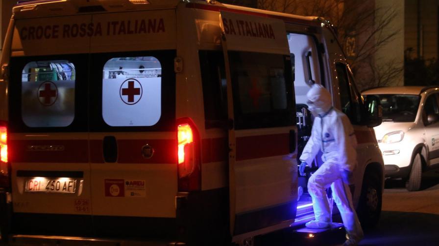 Пусти улици в Италия, починали от коронавируса