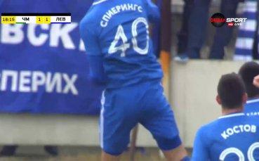 Дебютен гол за Спиерингс и Левски бързо изравни на Черно море