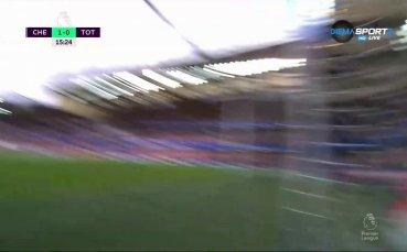 С първия си гол за сезона Жиру изведе Челси напред срещу Тотнъм
