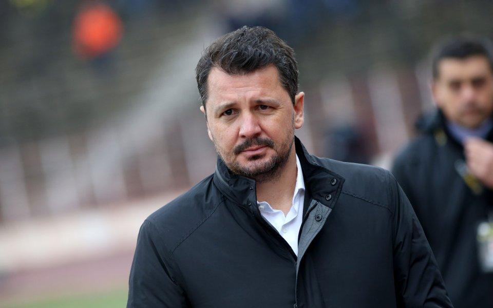 Старши треньорът на ЦСКА Милош Крушчич даде онлайн-пресконференция, в която