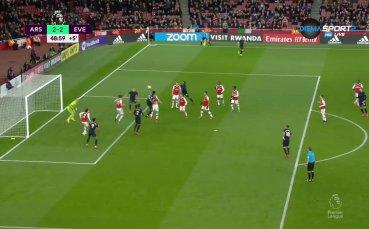 Арсенал - Евертън 3:2 /репортаж/