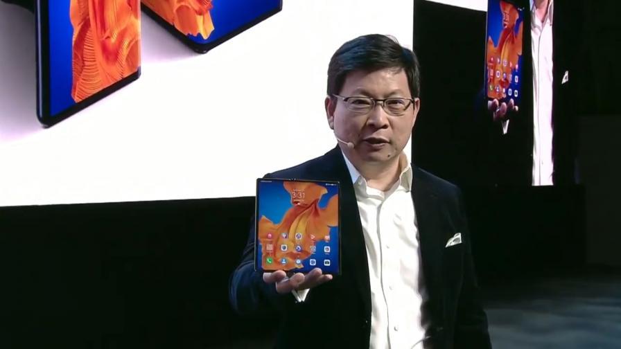Ричард Ю представя новия Huawei Mate Xs
