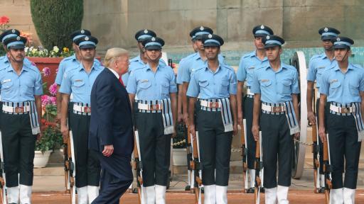 Доналд Тръмп и Мелания в Индия