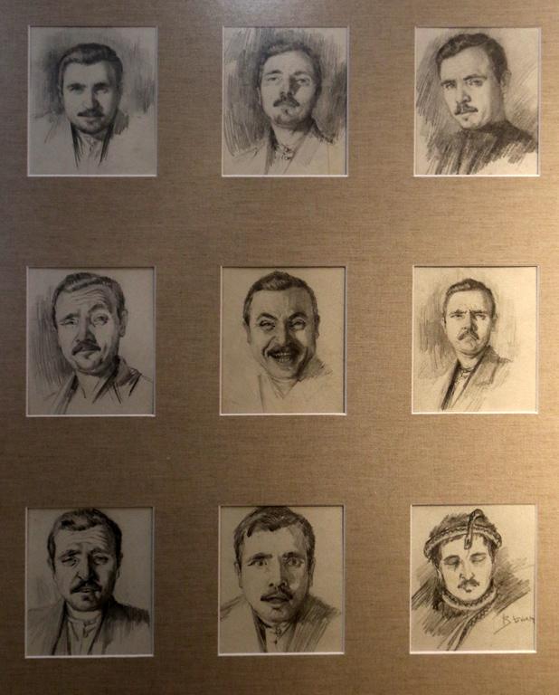 <p>Автопортрети, 1930 г.</p>