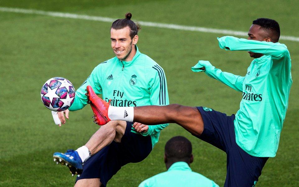 Футболистът на Реал Мадрид - Гарет Бейл, не пропусна отново