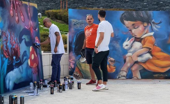 Никога до сега: графити в Националната ни галерия