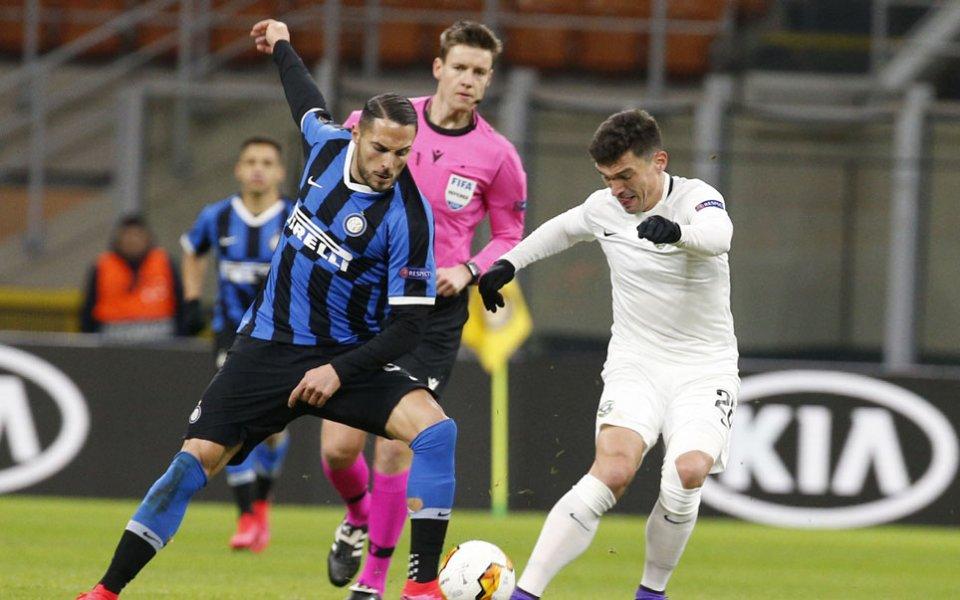 Двубоите на Интер и Рома в Лига Европа са под сериозна въпросителна