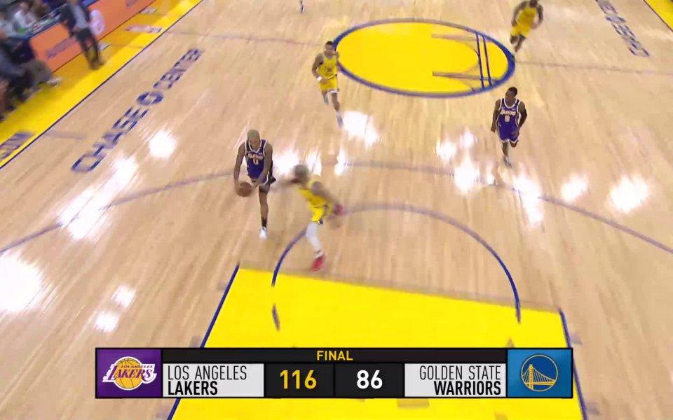 Водачът в класирането на Западната конференция на НБА Лос Анджелис