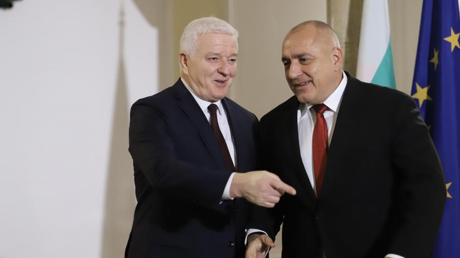 Бойко Борисов проведе среща с премиера на Черна гора Душко Маркович.