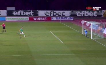 Камбуров реализира дузпа и даде аванс от два гола за Берое