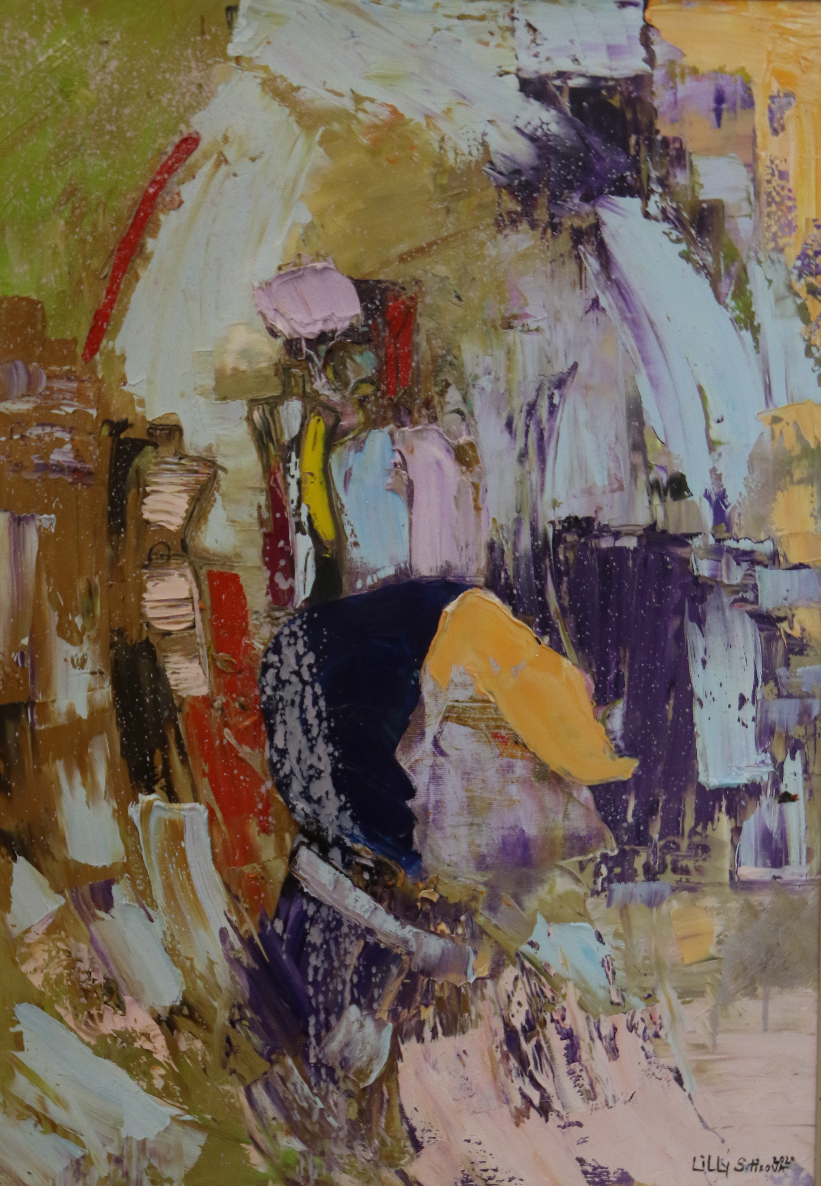 <p>Изложба живопис &bdquo;Презареждане&ldquo; от Лили Сотирова, в Галерия &bdquo;Гешов&rdquo;</p>