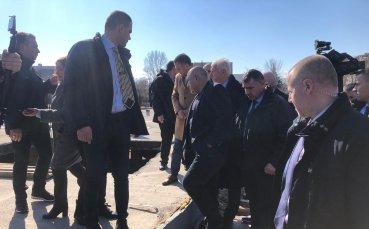Борисов се срещна и с ръководството на Ботев