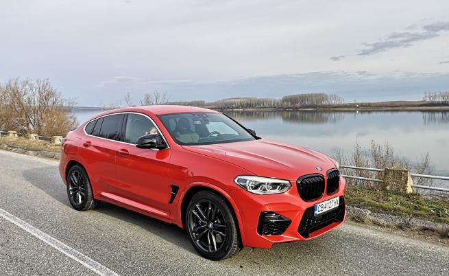 Песен за огън и лед: тестваме BMW X4 M Competition