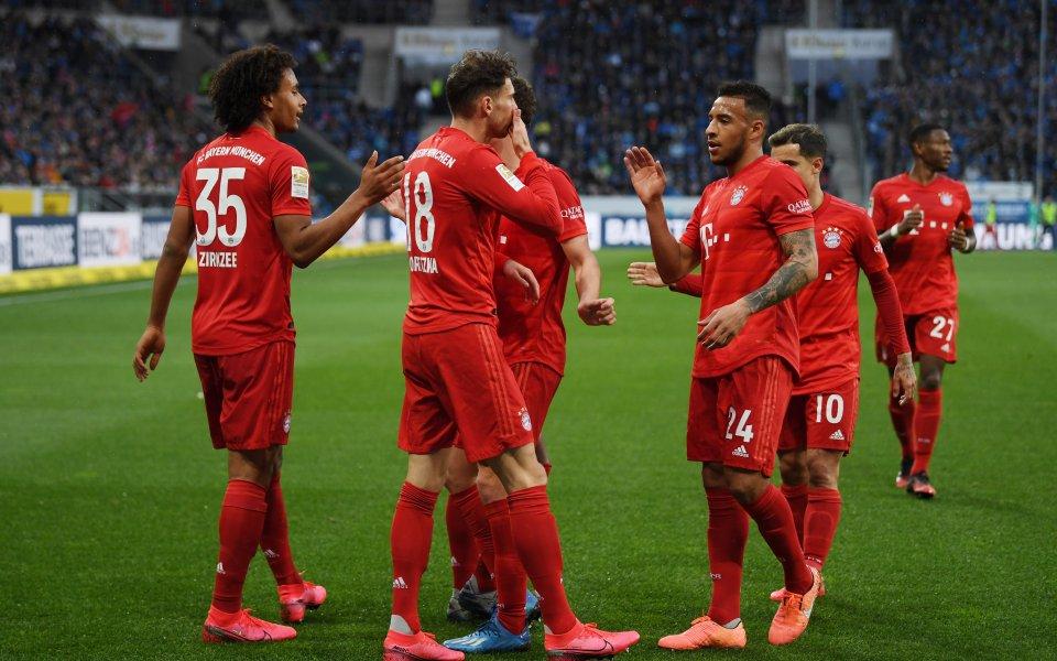 Германският шампион Байерн Мюнхен ще поднови тренировъчни занимания днес. Баварският