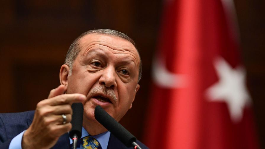 Ердоган постави конкретни условия към Ангела Меркел и Шарл Мишел