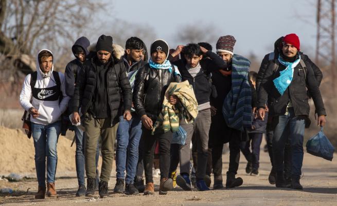 Откъде са мигрантите на турско-гръцката граница