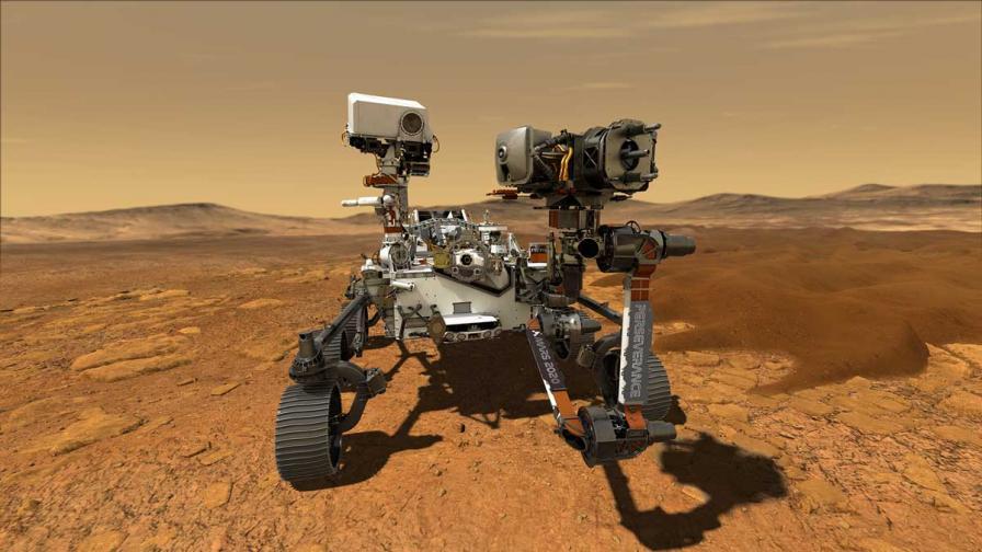 Марсоходът Perseverance
