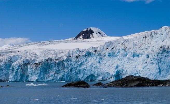 Изглед от Антарктида