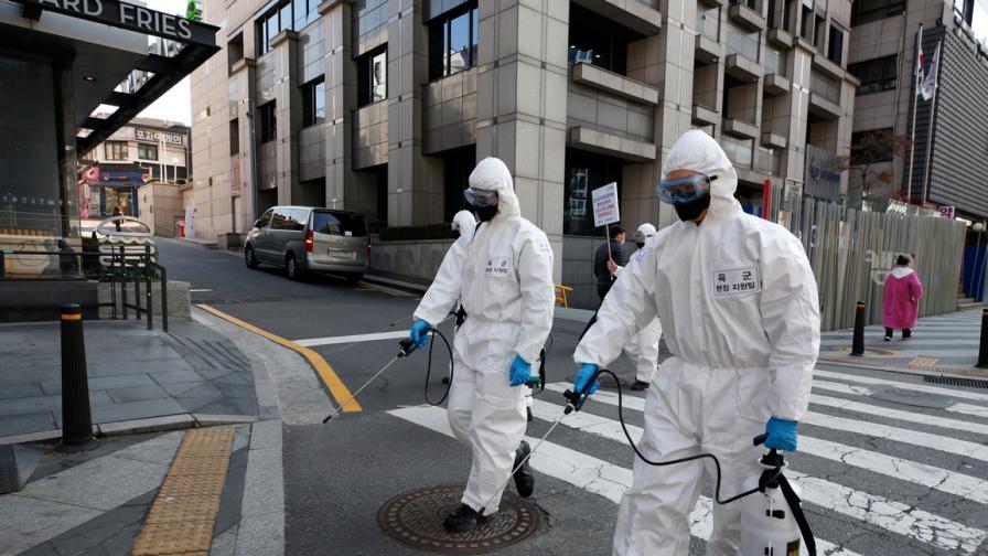 Втори пик на коронавируса в Южна Корея, пак затварят заведения