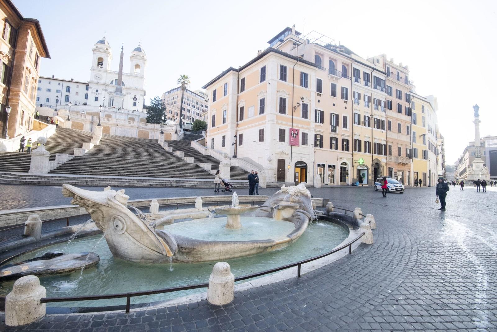 <p>Испанските стълби в Рим</p>