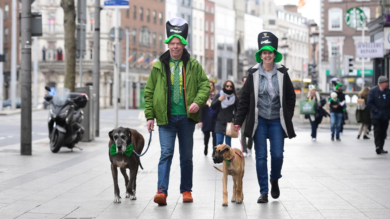 <p>Денят на Свети Патрик се отбелязва по целия свят. Миналата година 400 сгради и популярни атракции в над 50 държави бяха осветени в зелено по случай празника.</p>