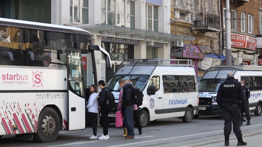 Британските туристи напуснаха София