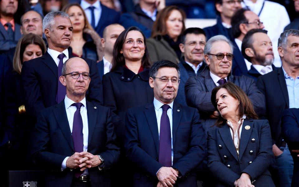 Президентът наБарселона - Джосеп Мария Бартомеу ще се обърне към