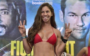Най-сексапилната боксьорка пак влуди мъжете