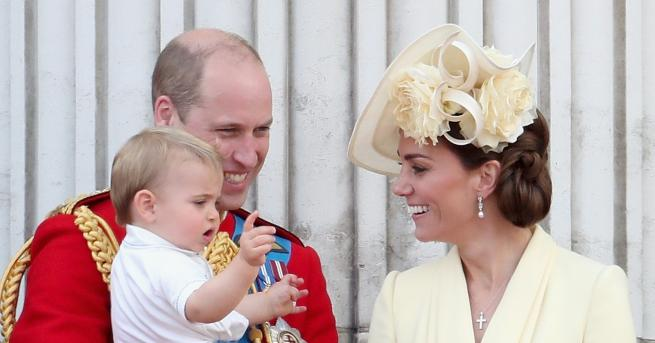 Любопитно Очарователно видео с трите деца на Кейт и Уилям
