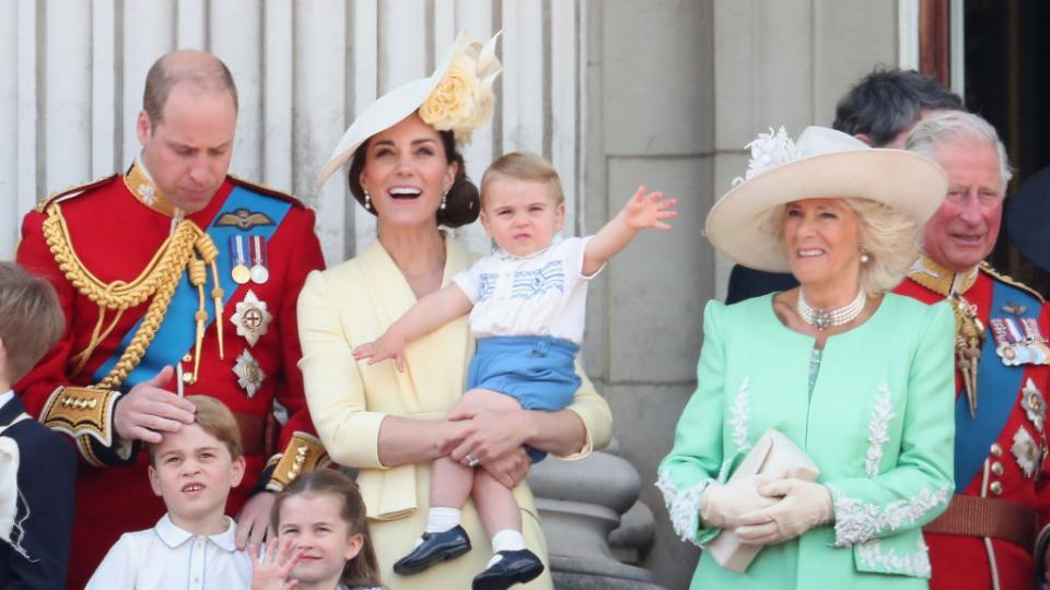 Кейт Уилям Шарлот Джордж Луис кралско семейство