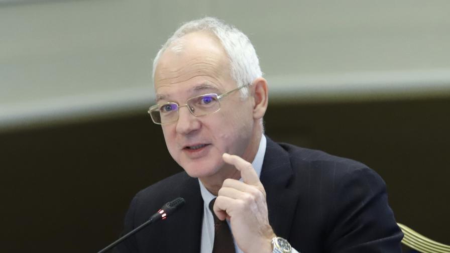 Васил Велев, председател на АИКБ